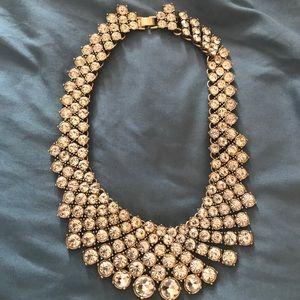 Banana Republic Rhinestone Collar Necklace